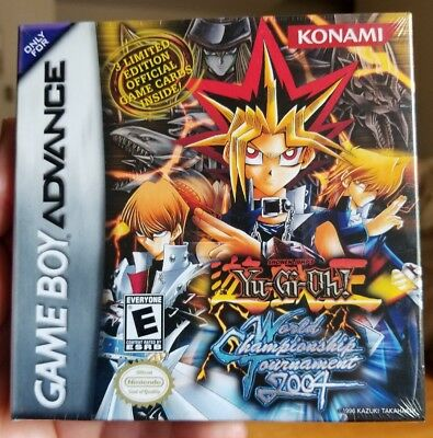 Yugioh World Championship Tournament 2004 Game Boy Advance New Sealed With Cards • 225.56£