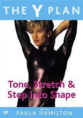 Y Plan: Tone, Stretch And Step Into Shape - DVD Region 2 Free Shipping! • 10.07£