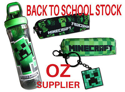 AU19.95 • Buy MINECRAFT Items- Drink Bottles, Wallets, Key Rings, Caps.  *OZ Seller Fast POST*