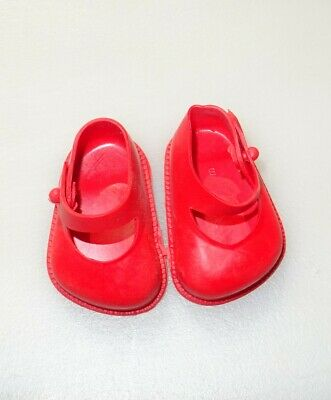 Cinderella Doll Shoes, Size 01, Red • 4.75£