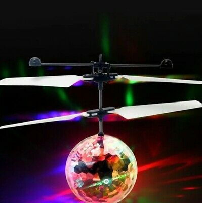AU25.41 • Buy Toys For Boys Age 3 4 5 6 7 8 9 10 Year Old Flying Ball Mini Drone LED Light Up