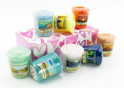 Yankee Candle 8 Votive Gift Set - Assorted Fragrances With Gift Box • 15£