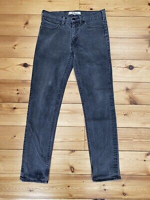 Levi Levi's Vintage Original Jeans 519 Slim W30 L32 Mens Black/Grey Washed Denim • 19.99£