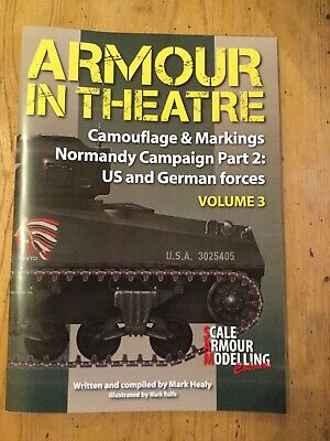 £16 • Buy Camouflage & Markings Normandy Campaign Part 2 US And German Forces Vol 3