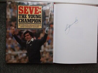 AU167.69 • Buy Severiano Ballesteros Signed Book Rare