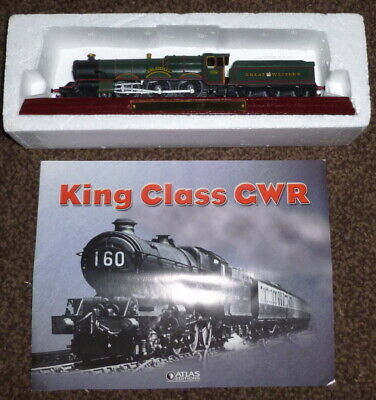 Atlas Editions Static Locomotive - GWR King Class - King Henry VII • 9.95£