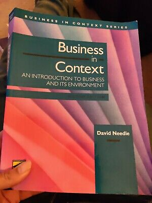 Business In Context 2nd Edition By David Needle • 6£
