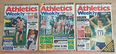 £5 • Buy Various Individual Athletics Weekly Magazines From 1993. Good Condition For Age.