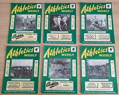 £5 • Buy Various Individual Athletics Weekly Magazines From 1961. Good Condition For Age.