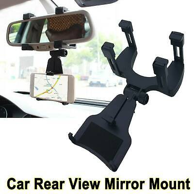 $8.83 • Buy US -Car Accessories Rearview Mirror Holder Mount Stand Cradle For Cell Phone GPS