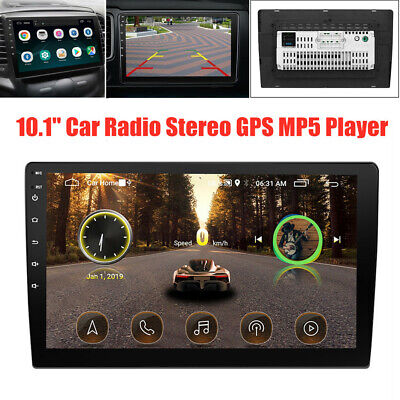 $151.30 • Buy 10.1  Touch Screen Car Radio Audio Video Stereo GPS MP5 Player For IOS/Android