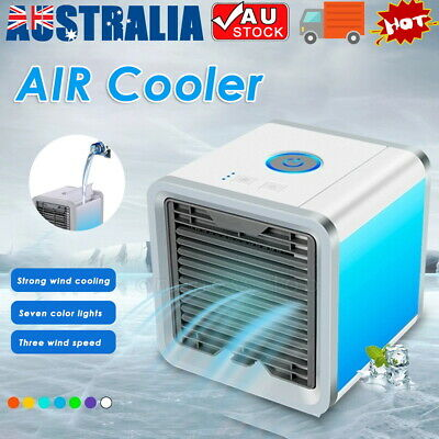 AU25.09 • Buy NEW USB Portable Mini Air Conditioner Cool Cooling For Bedroom Desk Cooler Fan