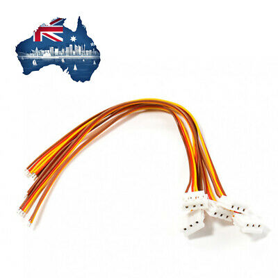 AU6.95 • Buy Mini JST 3-Pin Female Connector Lead 125mm (5pc) For RC Projects FPV Wiring