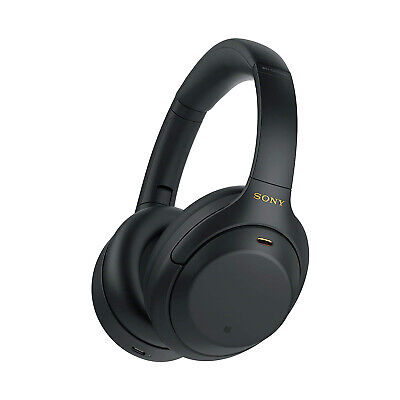 £215.99 • Buy Sony WH-1000XM4 Wireless Noise-Canceling Bluetooth Over Ear Headphones - Black
