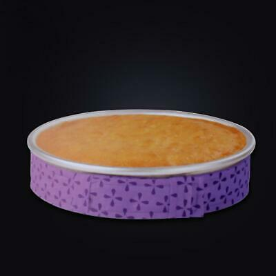 WILTON BAKE-EVEN STRIPS PURPLE - Bake Moist Level Cakes Time Every P5M6 • 2.22£