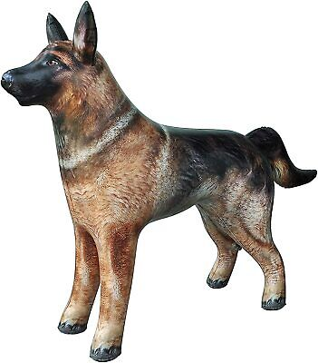 Inflatable German Shepherd Blow Up Toy Large  Animal .Ideal Party Decoration.  • 18.99£