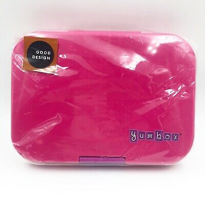 AU26.08 • Buy Yumbox Leakproof Bento Lunch Box Light Pink Adult Size 8.5in X 6.5in X 1.75in