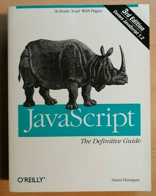 JavaScript, The Definitive Guide - Third Edition • 3£