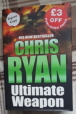 £2 • Buy Chris Ryan Ultimate Weapon By  (Hardback, 2006) First Edition Signed