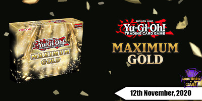 Yu-Gi-Oh! - Maximum Gold - MAGO-EN -  Singles (Any 4+ 50% Off) • 0.99£