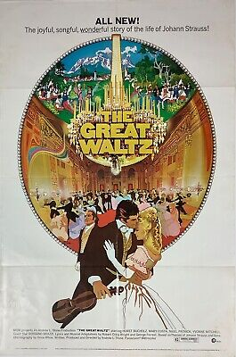 The Great Waltz 1972 American Folded 1-SHT Movie Poster 27  By 41  By Bob Peak • 17.37£