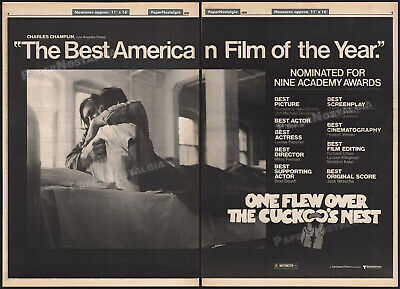 $ CDN42.32 • Buy ONE FLEW OVER THE CUCKOO'S NEST__Orig. 1976 Trade AD Promo/ Poster__WILL SAMPSON