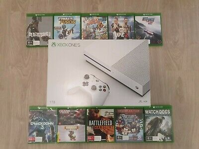 AU499 • Buy Xbox One S 1TB With 10 Games