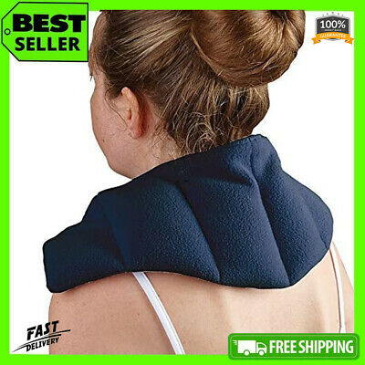 Heat Pad Therapy Neck Shoulder Back Thermal Microwaveable Bag Warmer Wheat Pain • 15.99£