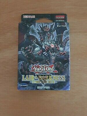 YuGiOh! Lair Of Darkness Structure Deck SR06 Structure Deck 1st Edition Sealed • 25£