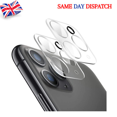 9H Ultra-ThinTempered Glass Camera Lens Protector Cover For IPhone 11 PRO 12 PRO • 3.59£
