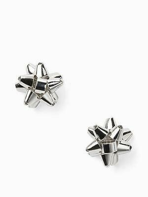 $ CDN45.61 • Buy KATE SPADE EARRINGS! Bourgeois Studs In SILVER! NWT/Dustbag 100% AUTHENTIC!