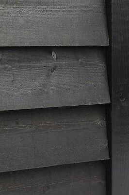 Black Featheredge/Cladding Barn, Sheds / Cart Shed / Feather Edge / Weatherboard • 1.31£