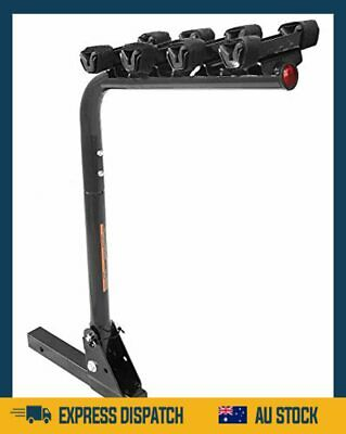 AU168.99 • Buy Premium 4 Bike Rack Bicycle Carrier Racks Hitch Mount Double Foldable Rack  - AU