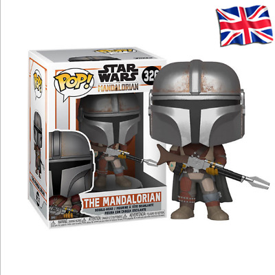FUNKO POP Star Wars The Mandalorian 326# Action Figures Collection Model Toys • 12.09£
