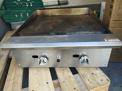 Commercial Gas Griddle Table Top Double Burner • 250£