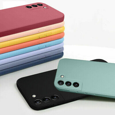 $ CDN3.77 • Buy Liquid Silicone Protective Case For Samsung Galaxy S20 FE Note 20 A21S A71 Cover