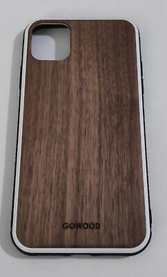 GOWOOD Wooden Case For IPhone 11 - Walnut Wood Backside • 19.99£