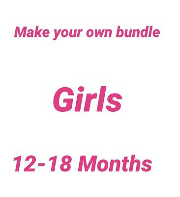 Girls Clothes 12-18 Months Make Your Own Bundle • 1£