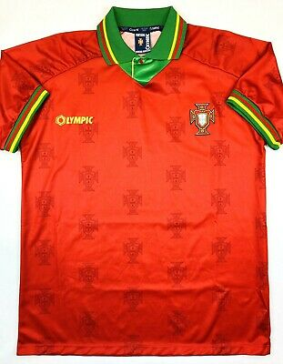 Olympic PORTUGAL 1995/96 XL Home Football Shirt Soccer Jersey FPF Camisa Top Kit • 94.99£