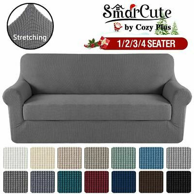 AU30.14 • Buy Sofa Cover 1 2 3 4 Seater Easy Fit Lounge Couch Super Quality Slipcover VIC 3131