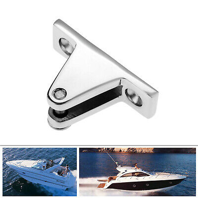 Heavy Duty Marine Boat Cover Canopy Deck Hinge Sprayhood Fitting Stainless Steel • 6.86£