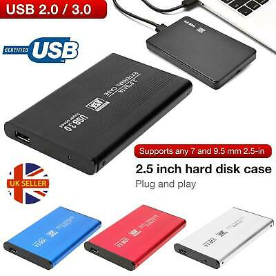£6.05 • Buy USB 2.0 /3.0 To SATA HDD SSD Enclosure Caddy Case Shell For 2.5  Hard Drive Disk