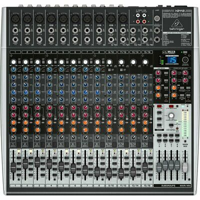 Behringer XENYX X2442USB 24 Channel Analog Mixer • 299£
