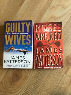 £3.10 • Buy James Patterson Paperback Books- Guilty Wives & Roses Are Red - Fiction