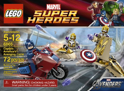 LEGO Captain Americas Avenging Cycle 6865 • 45.72£