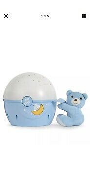 Chicco Next 2 Stars Baby Toy Sound Musical Night Lamp Cot/Crib Light Projector • 18£
