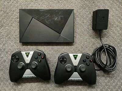 $ CDN207.61 • Buy Nvidia Shield (2015 Model) 4K HDR Android TV P2571 16GB + 2 Game Controllers