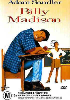 AU19.99 • Buy Billy Madison - Adam Sandler -Rare DVD Aus Stock Comedy New Region 4