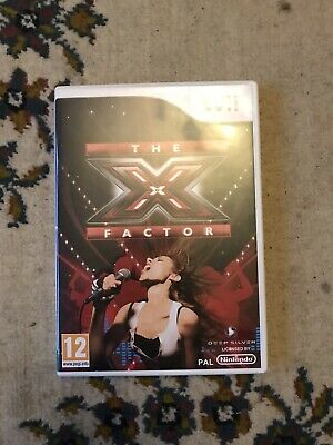 Wii The X Factor Game • 7.50£
