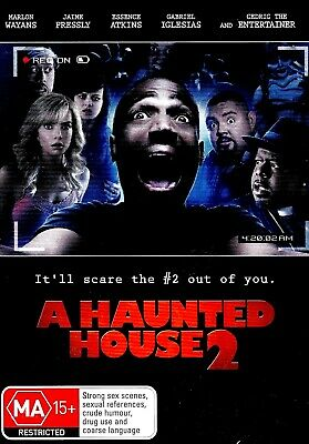 A Haunted House 2 -Rare DVD Aus Stock Comedy New Region 4 • 16.58£